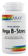 Solaray - Mega B-Stress Two-Stage Time-Release - 60 Vegetarian Capsules