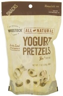 Woodstock Farms - All-Natural Yogurt Pretzels - 7 oz. by Woodstock Farms