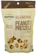 Woodstock Farms - All-Natural Peanut Butter Pretzels - 6.5 oz. by Woodstock Farms