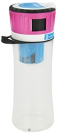 Hydros Bottle - Filtering Water Bottle with Side Fill Port Pink - 16 oz. CLEARANCE PRICED