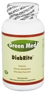 Green Med - DiabRite - 180 Capsules, from category: Nutritional Supplements