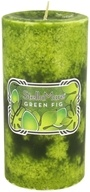 Stella Mare - Pillar Candle 3x6 Green Fig - 21.6 oz., from category: Aromatherapy