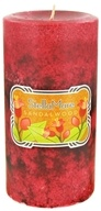 Stella Mare - Pillar Candle 3x6 Sandalwood - 21.6 oz. by Stella Mare