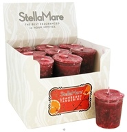 Image of Stella Mare - Votive Candle Cranberry Tangerine - 2 oz.