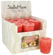 Stella Mare - Votive Candle Guava Coconut - 2 oz., from category: Aromatherapy