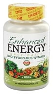 Kal - Enhanced Energy Once Daily Whole Food Multivitamin - 60 Vegetarian Tablets by Kal