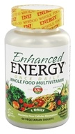 Kal - Enhanced Energy Once Daily Whole Food Multivitamin - 60 Vegetarian Tablets, from category: Vitamins & Minerals