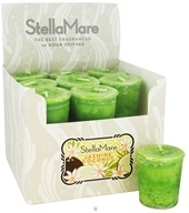Stella Mare - Votive Candle Jasmine Coconut - 2 oz., from category: Aromatherapy
