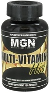 Muscle Gauge Nutrition - Multi-Vitamin His - 90 Capsules CLEARANCE PRICED - $9.97
