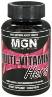 Muscle Gauge Nutrition - Multi-Vitamin Hers - 90 Capsules - $16.11