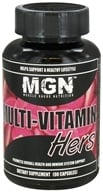 Muscle Gauge Nutrition - Multi-Vitamin Hers - 90 Capsules (661799327381)