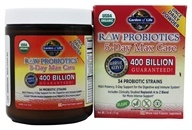 Garden of Life - Raw Probiotics 5-Day Max Care 34 Probiotic Strains - 2.4 oz., from category: Nutritional Supplements