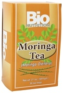 Bio Nutrition - Moringa Tea Unflavored - 30 Tea Bags