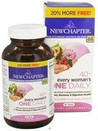 New Chapter - Every Woman's One Daily 40+ - 86 Tablets, from category: Vitamins & Minerals