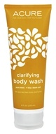 Image of Acure Organics - Body Wash Exfoliating Pure Mint + Lilac Stem Cell - 8 oz.
