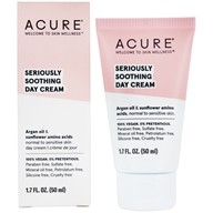 Acure Organics - Sensitive Facial Cream Argan Oil + Probiotic Unscented - 1.75 oz.