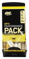 Optimum Nutrition - Opti-Performance Pack High-Potency MultiVitamins - 30 Packet(s), from category: Sports Nutrition