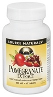 Source Naturals - Pomegranate Extract 500 mg. - 60 Tablets