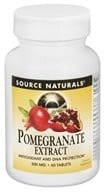 Image of Source Naturals - Pomegranate Extract 500 mg. - 60 Tablets