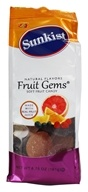 Image of Jelly Belly - Sunkist All Natural Soft Fruit Candy Fruit Gems - 6.75 oz.