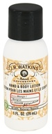 JR Watkins - Naturals Apothecary Hand & Body Lotion Travel Size Mango - 1 oz. (818570003341)