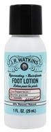 JR Watkins - Natural Apothecary Rejuvenating Foot Cream Travel Size Peppermint - 1 oz. LUCKY DEAL