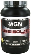 Muscle Gauge Nutrition - Pure Isolate Whey Protein Strawberry - 2 lbs., from category: Sports Nutrition