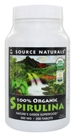 Source Naturals - Organic Spirulina 500 mg. - 200 Tablets by Source Naturals