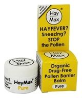 Hay Max - Pollen Barrier Balm Pure - 0.17 oz. - $15.95