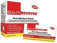 Image of BeautyFit - BeautyRecover Post-Workout ReFuel Ice Lemonade - 25 Packet(s) CLEARANCE PRICED