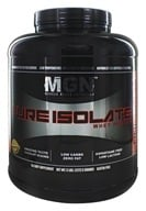 Muscle Gauge Nutrition - Pure Isolate Whey Protein Chocolate - 5 lbs. by Muscle Gauge Nutrition