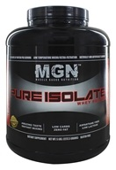 Muscle Gauge Nutrition - Pure Isolate Whey Protein Vanilla Caramel - 5 lbs. (798304053043)