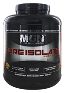 Muscle Gauge Nutrition - Pure Isolate Whey Protein Cinnamon Bun - 5 lbs. LUCKY PRICE