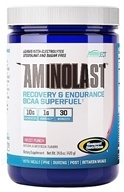 Gaspari Nutrition - AminoLast Recovery & Endurance BCAA Superfuel Fruit Punch 30 Servings - 14.8 oz., from category: Sports Nutrition