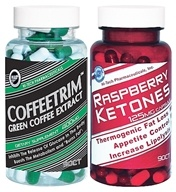 Hi-Tech Pharmaceuticals - Green Coffee Extract & Raspberry Ketone Pack