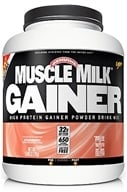 Cytosport - Muscle Milk Genuine High Protein Gainer Powder Drink Mix Strawberry - 5 lbs. (660726500033)