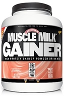 Image of Cytosport - Muscle Milk Genuine High Protein Gainer Powder Drink Mix Strawberry - 5 lbs.