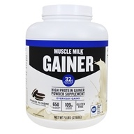 Muscle Milk Genuine High Protein Gainer Powder Drink Mix Cookies N' Creme - 5 lbs.