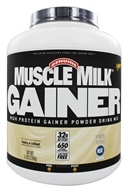 Cytosport - Muscle Milk Genuine High Protein Gainer Powder Drink Mix Vanilla Creme - 5 lbs. by Cytosport