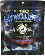 Golden Valley Natural - Natural Buffalo Jerky with Naturally Smoked Flavoring Teriyaki - 3 oz., from category: Health Foods