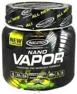 Muscletech Products - Nano Vapor Performance Series Hardcore Pre-Workout Formula Sour Apple - 1.2 lbs. by Muscletech Products