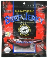 Golden Valley Natural - Natural Beef Jerky with Naturally Smoked Flavoring Teriyaki - 3.25 oz., from category: Health Foods