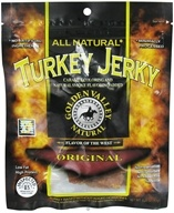 Golden Valley Natural - Natural Turkey Jerky with Naturally Smoked Flavoring Original - 3.25 oz. (817820009607)