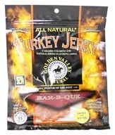 Golden Valley Natural - Natural Turkey Jerky with Naturally Smoked Flavoring Bar-B-Que - 3.25 oz. (817820009645)