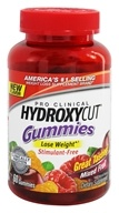 Muscletech Products - Hydroxycut Gummies Pro Clinical Mixed Fruit - 60 Gummies by Muscletech Products