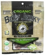 Golden Valley Natural - Organic Beef Jerky with Naturally Smoked Flavoring Black Pepper - 3 oz. by Golden Valley Natural