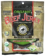 Golden Valley Natural - Organic Beef Jerky with Naturally Smoked Flavoring Sweet N' Spicy - 3 oz., from category: Health Foods
