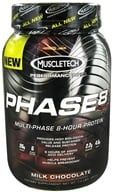 Muscletech Products - Phase8 Performance Series Multi-Phase 8-Hour Protein Milk Chocolate - 2 lbs. by Muscletech Products