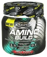 Image of Muscletech Products - Amino Build Performance Series BCAA Formula Fruit Punch - 261 Grams