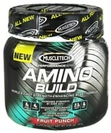 Muscletech Products - Amino Build Performance Series BCAA Formula Fruit Punch - 261 Grams